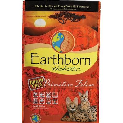 Earthborn Holistic Primitive Feline Grain Free Adult Dry Cat Food 6kg