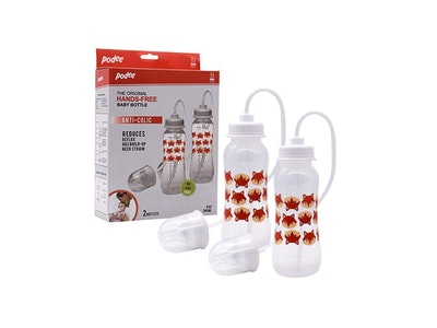 Podee® Hands Free Baby Bottle (Twin/260ml) Fox