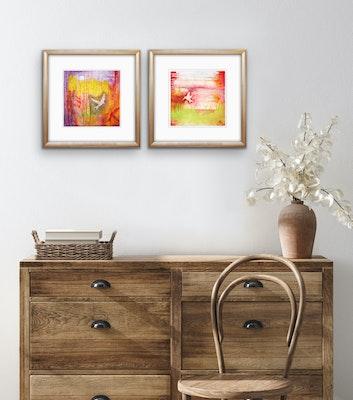 Diilhami Art Stunning art print pair - Needing Nectar and Moonshadow