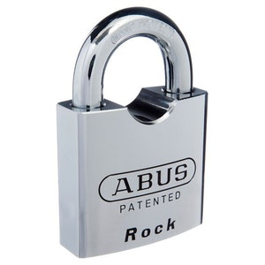 ABUS High Security Steel Padlock 'Rock' 83/80 Keyed Padlock Ideal Shipping Container Padlock