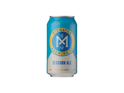 Mismatch Session Ale Can 375mL