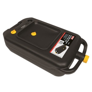 Toledo Portable Oil Drain Pan 10L Size: 580 x 140 x 330mm