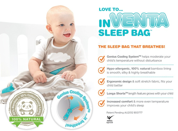 Love to Dream inVenta Sleep Bag