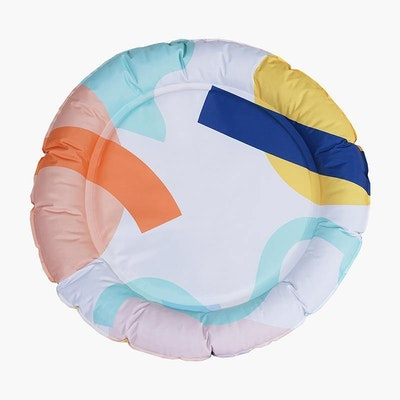 Zeze Geometric Patterns Pet Cooling Bed