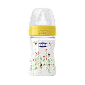 Chicco Well-Being Silicone Bottle 0m+ 150ml Unisex