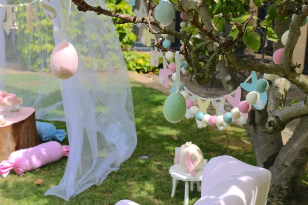 EASTER GARDEN TEA PARTY