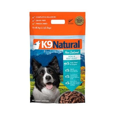 K9 Natural Beef & Hoki 1.8KG