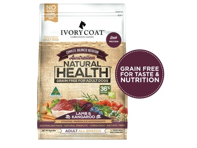 Ivory Coat Lamb & Kangaroo Grain Free Dry Dog Food