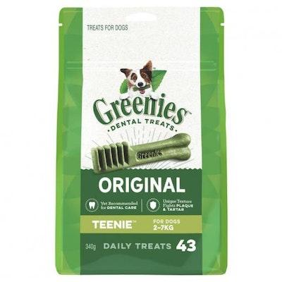 Greenies Extra Small Breed Dental Care Dog Treats Pack 340G