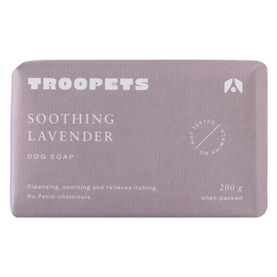 Troopets Soothing Lavender Dog Soap