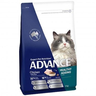 Advance Senior Chicken Dry Cat Food 3kg