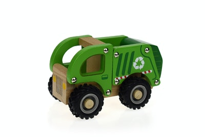 Koala Dream KD WOODEN RECYCLE TRUCK