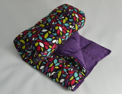 Weighted Travel Blanket - Ayako with Mulberry 2.5kg