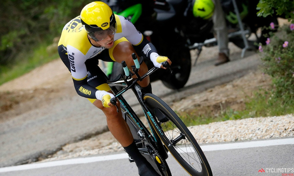 Roglic Takes Stage Nine ITT