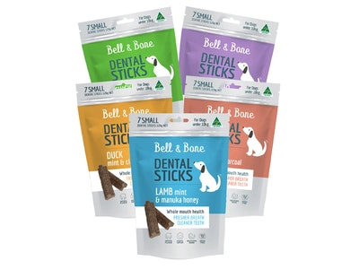 Bell and Bone Dental Treats Bundle - 5 Pack