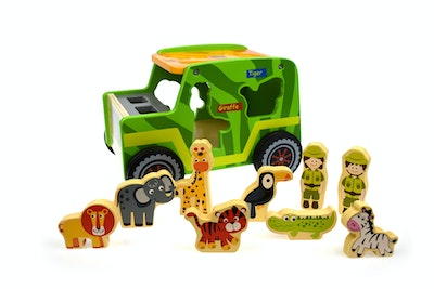 Tooky Toy SAFARI JEEP