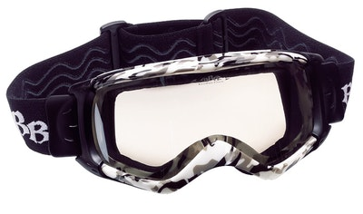 Dirtview Goggle - Army Grey - Clear Lens  - BSG-41.4150