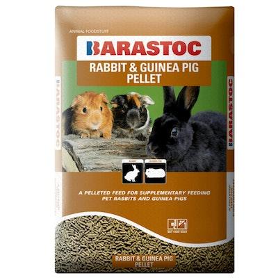 Barastoc Rabbit & Guinea Pig Pellets Feed Snacking Treat 20kg