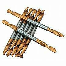 Drill Bits 1/8 Double Ended Alpha Pkt Of 10