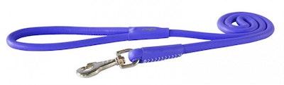 Rogz Leather Lead Purple
