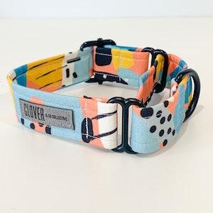 'Animal Instinct' Martingale Dog Collar