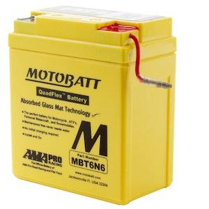 MBT6N6 MotoBatt Quadflex 6V Battery