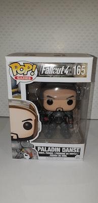 Paladin Danse Pop vinyl from fallout 4