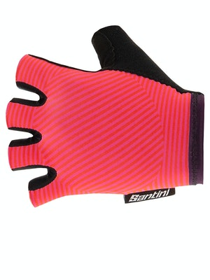 Santini Mille Gloves Atomic Orange