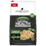 IVORY COAT Wholegrain Dry Dog Food Adult Large Breed Turkey & Brown Rice 18kg