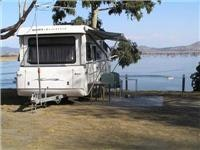 Lake Hume caravan site