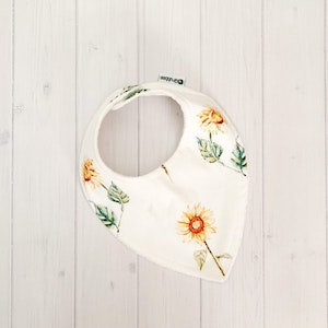 Grubbee Sunflower Dribble Bib