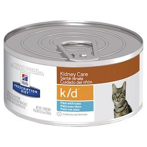 Hill's Prescription Diet Cat k/d Kidney Care Pate with Tuna 24 x 156g