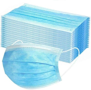 Boutique Medical 50x CE CERTIFIED Disposable SURGICAL MASKS Face Guard Dust Mouth 3 Ply Air Purifying