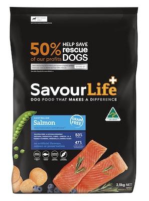 Savourlife Grain Free Adult Salmon 2.5kg