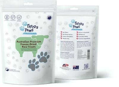 Freezy Paws Premium Freeze-Dried Lamb Liver Raw Treats 100g
