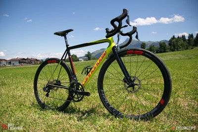 Angetestet: Cannondale SuperSix Evo Hi-Mod Disc 2017
