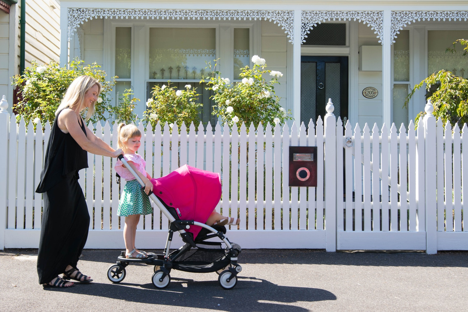 My first stroller – the Bugaboo Bee