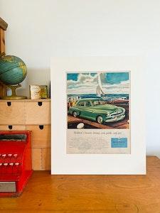 Vintage Holden FJ Advertisement | Original Vintage Advertisement | Vintage Holden Collectible