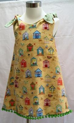Handgrown Threads Dress - Size 4 - Beach Huts