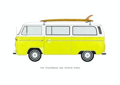 The Volkswagen Bay Window Kombi