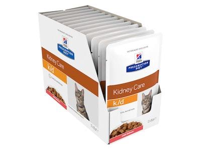 Hill's Prescription Diet Cat k/d Kidney Care Salmon 12 x 84g
