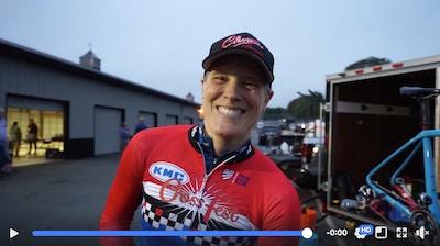 Knight rider Compton Scores Double Win for Elite Women's C2