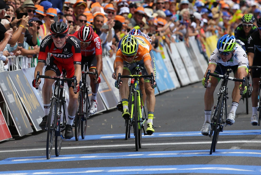 Tour Down Under Stage 3 finish
