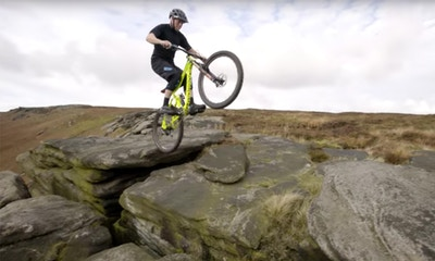Chris Akrigg is the Master of Natural Terrain - Must Watch Video