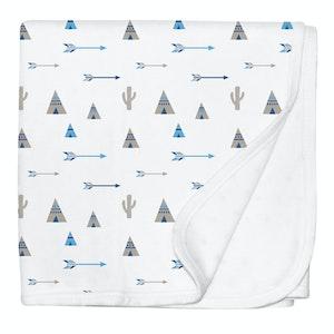 Silly Billyz Tee Pee Jersey Stroller Blanket