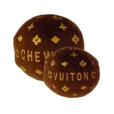 Dog Diggin Designs Chewy Vuiton Ball Dog Toy
