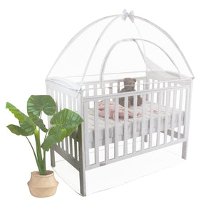Babyhood Cot Canopy Net Standard Cot Size