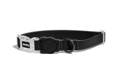 Zee Dog Neopro Adjustable Soft Dog Collar Black - 4 Sizes
