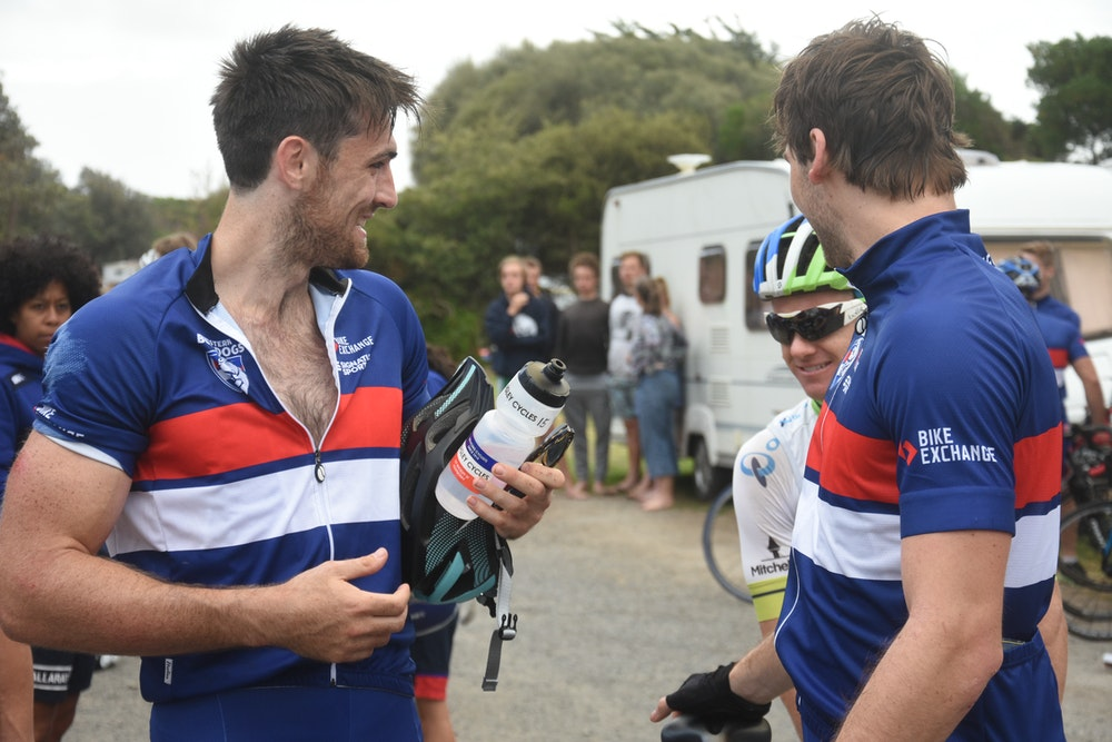 Western Bulldogs Post ride de brief
