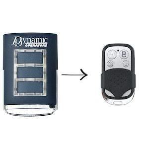 Remote Pro Dynamic Operators Compatible Remote